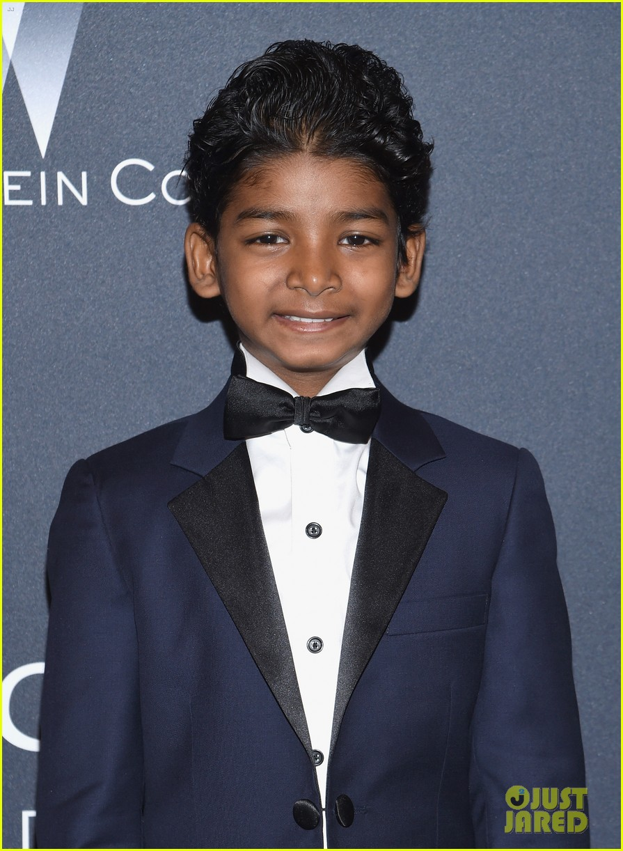 dev patel lion mini me sunny pawar oscars weekend 023866169