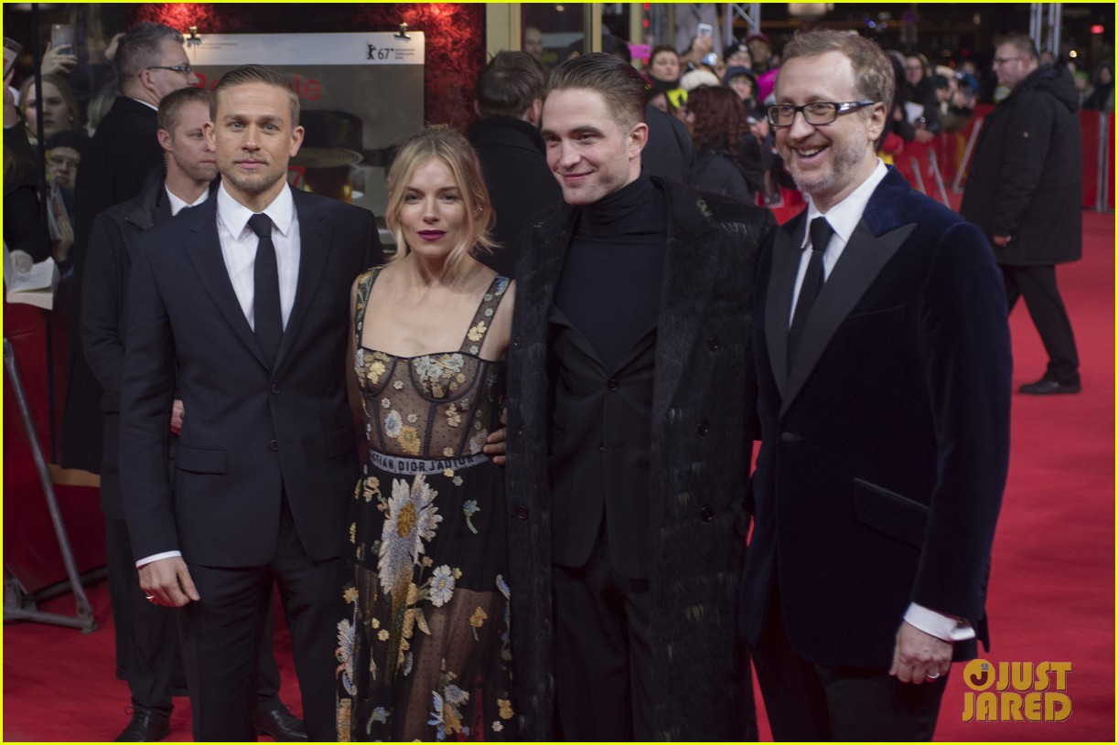 robert pattinson charlie hunnam sienna miller lost city of z berlin premiere 183860128