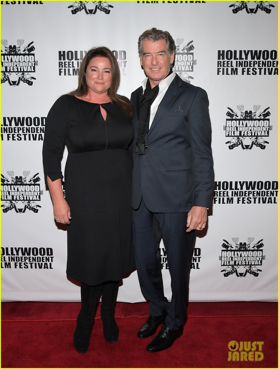 pierce brosnan brings the whole family to hollywood reel independent film fest 013862085