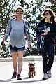 natalie portman looks ready to pop during her hike 05