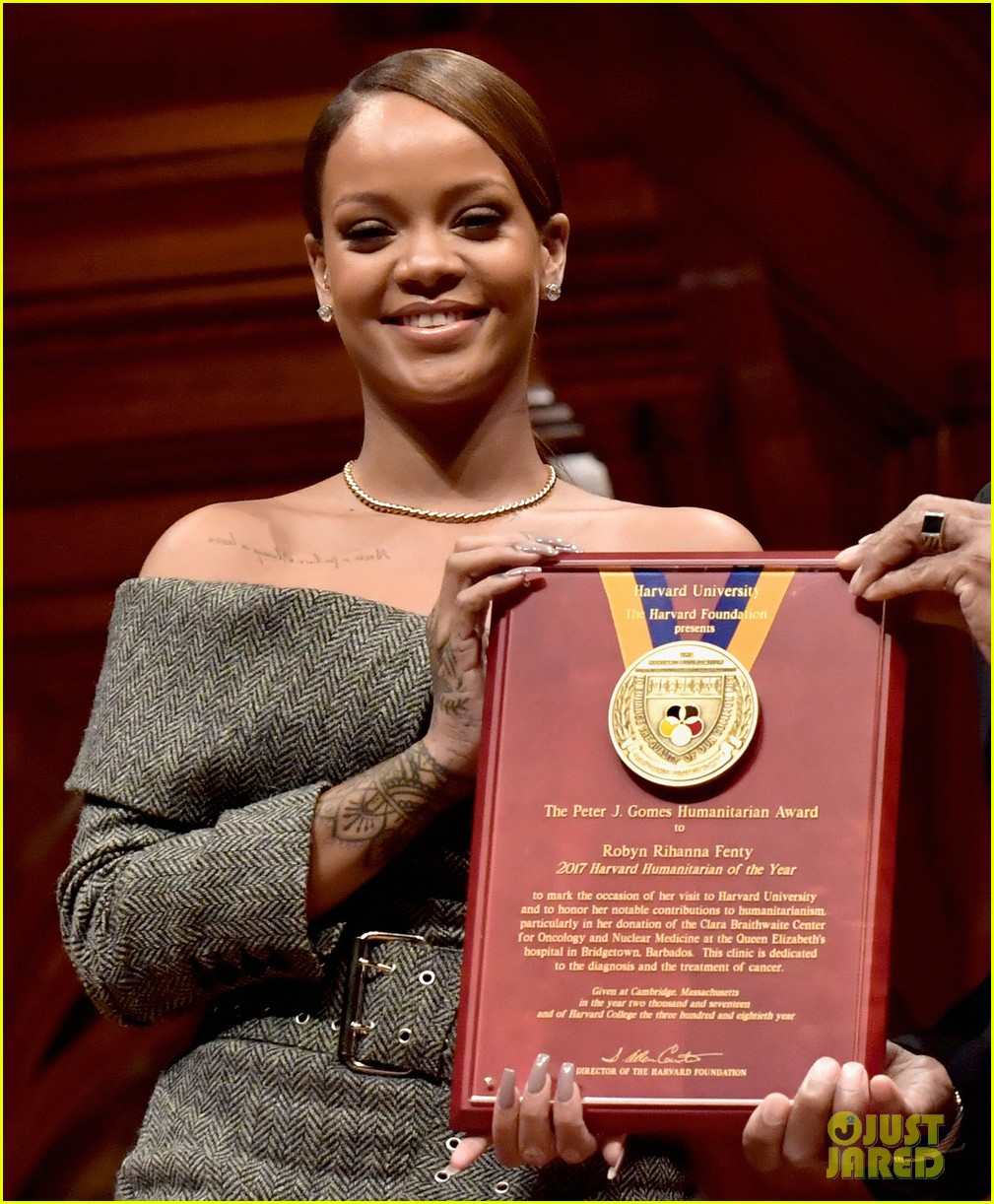 humanitarian award speech