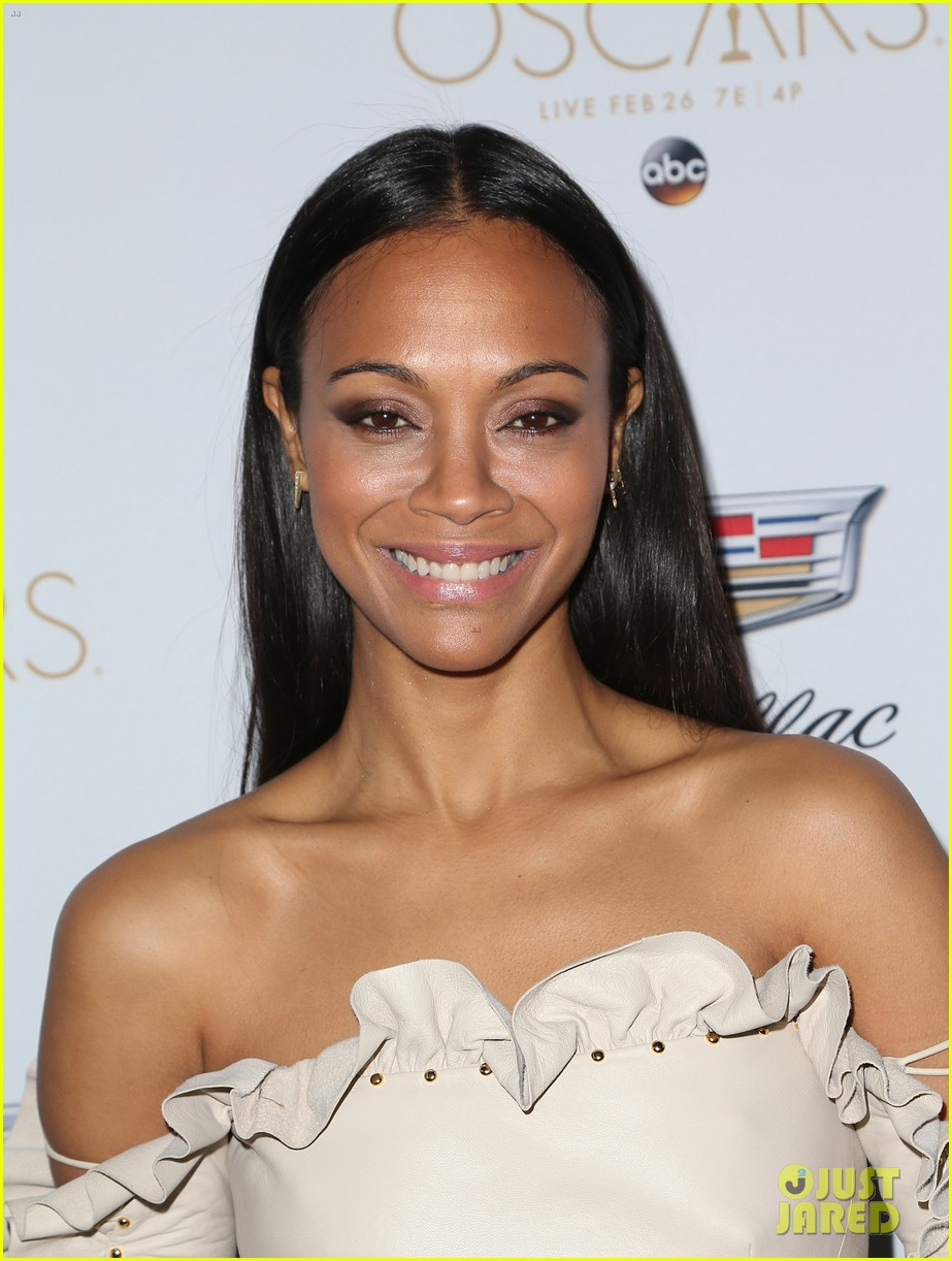 zoe saldana cadillac oscars party 163864921