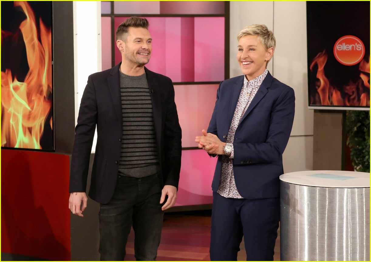 ryan seacrest fire at his house ellen degeneres 023864942