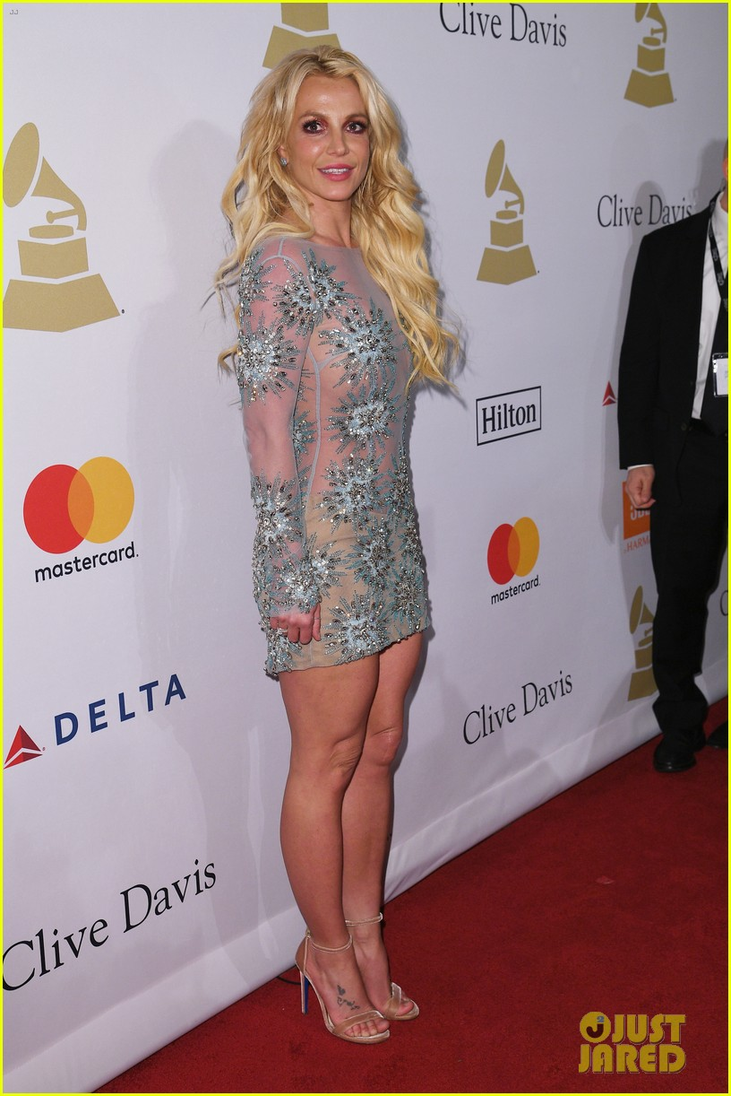 clive davis sparkles in sheer gown at clive davis pre grammy party 043857621