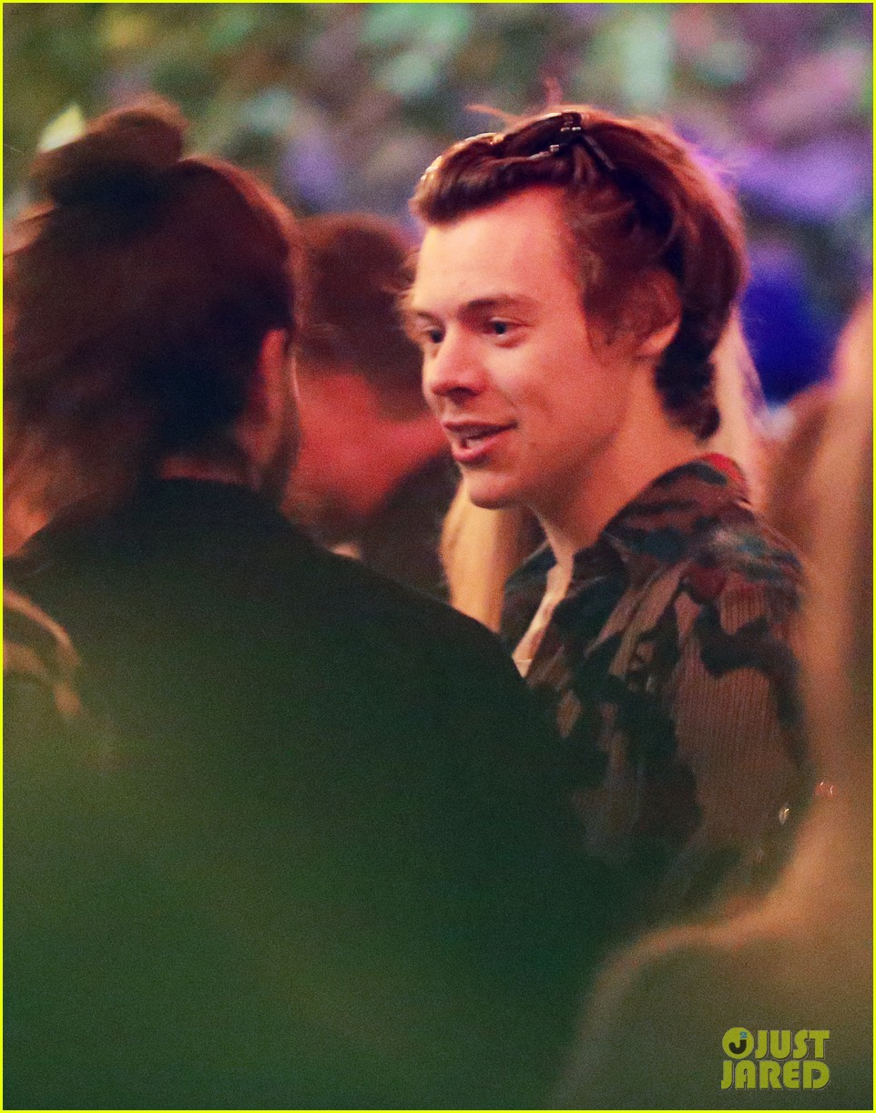 Harry Styles Celebrates 23rd Birthday With Friends in ...