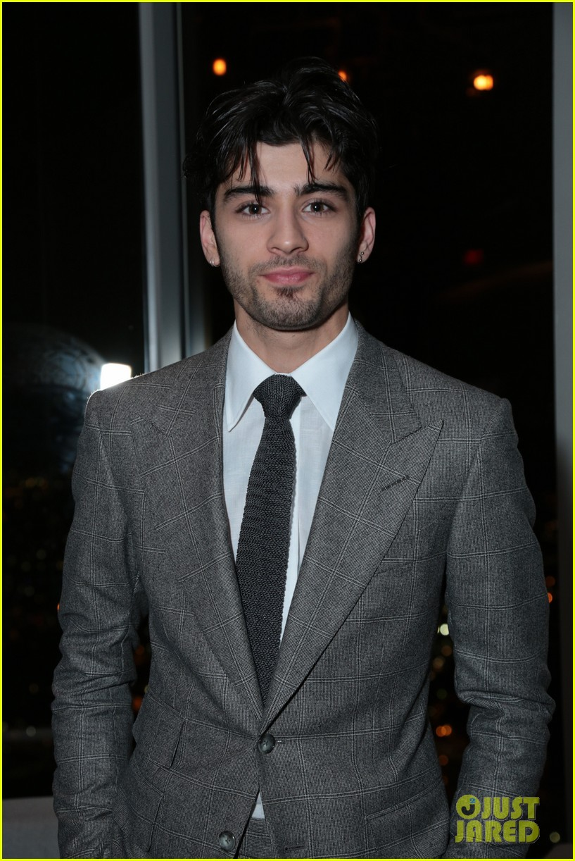 Zayn Malik Suits Up For Fifty Shades Premiere With Rita Ora