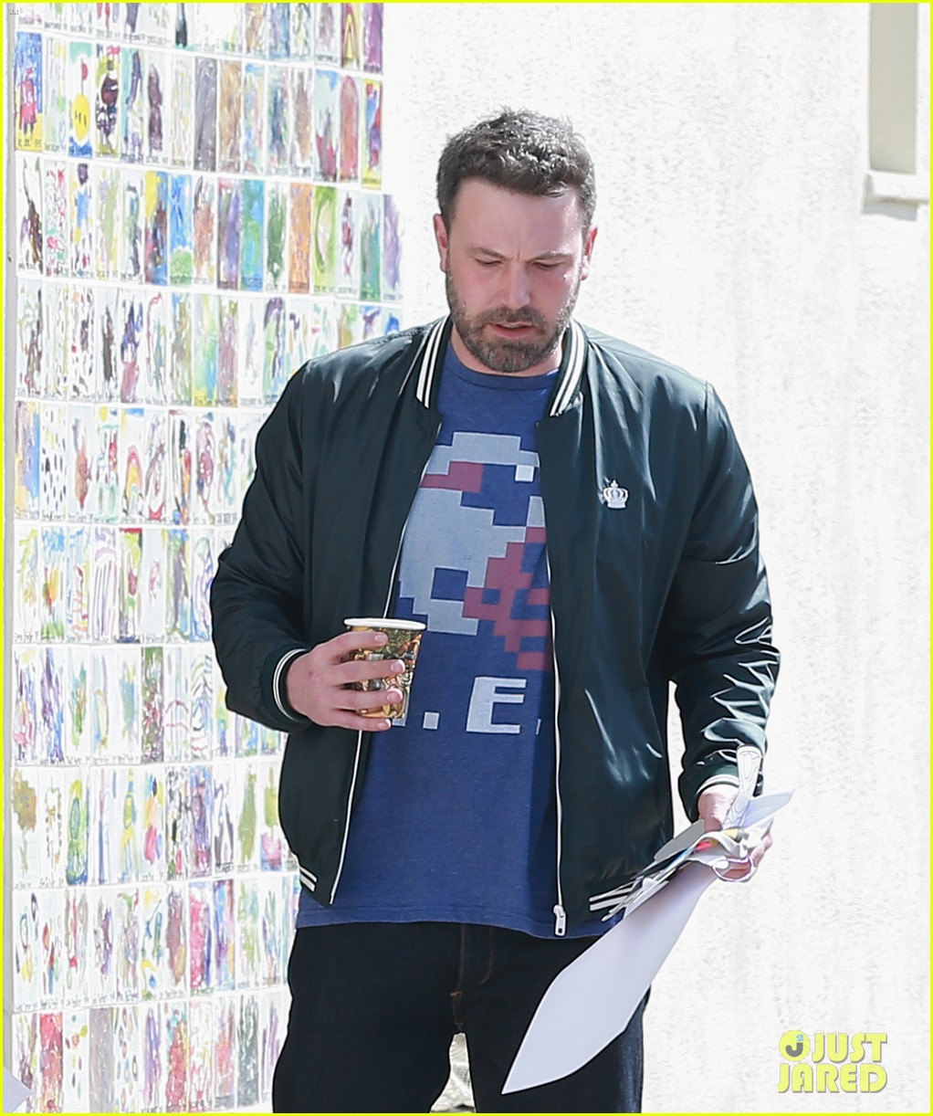 Ben Affleck Spends Quality Time with His Kids Ben Affleck