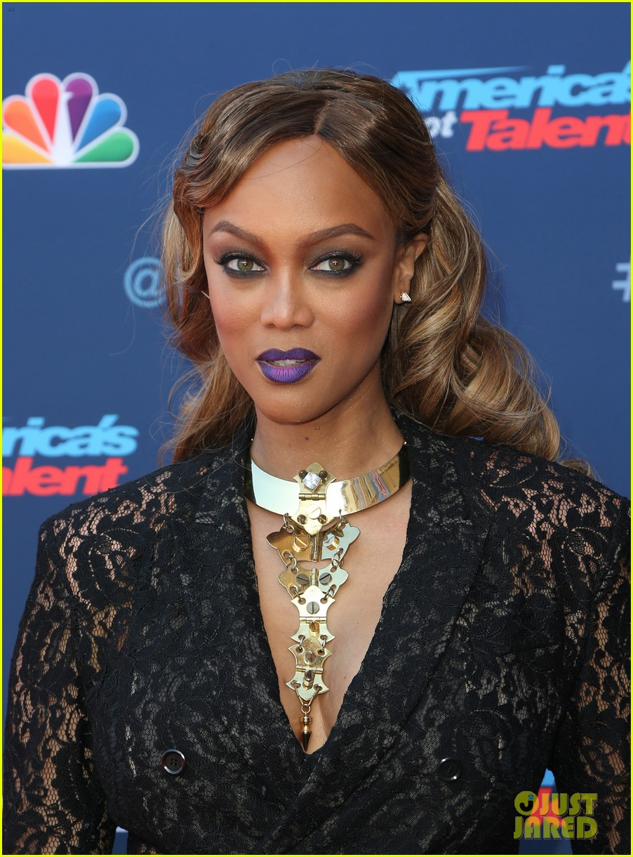 tyra banks makes her americas got talent red carpet debut at season 12 kickoff 023879194