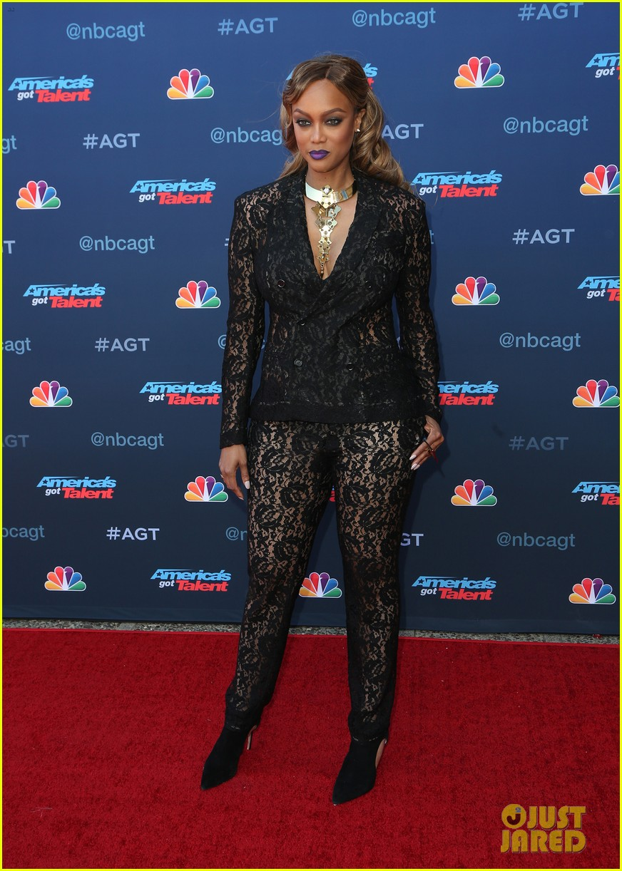 tyra banks makes her americas got talent red carpet debut at season 12 kickoff 053879197