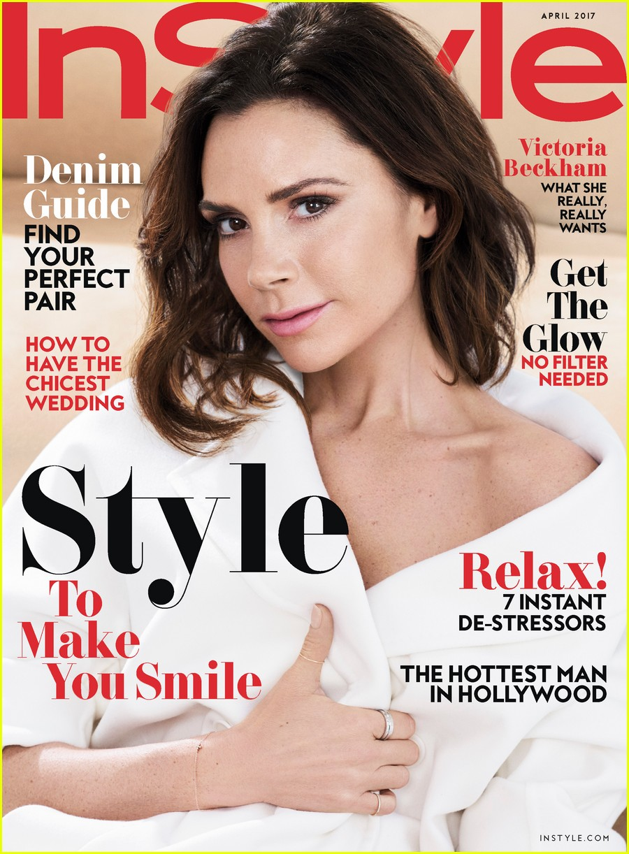 Full sized photo of victoria beckham instyle magazine for Victoria magazine low country style