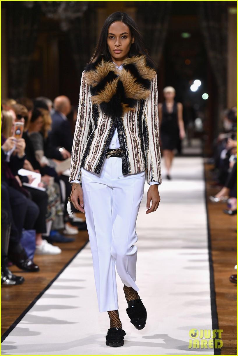 bella joan suit up for lanvin paris fashion show 033868793