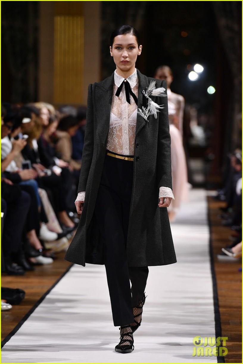 bella joan suit up for lanvin paris fashion show 053868795