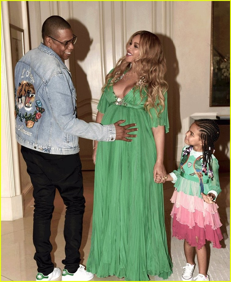 Beyonce & Jay Z Took Blue Ivy to the 'Beauty & The Beast ...