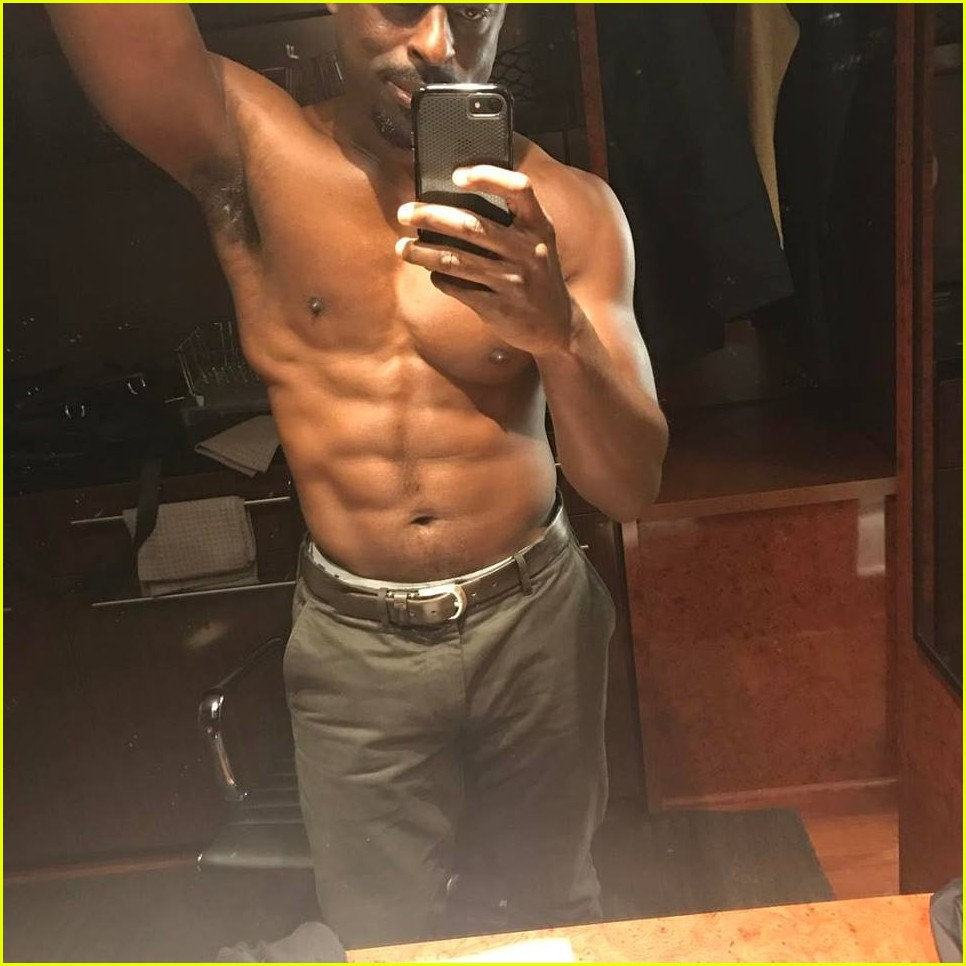 Sterling K Brown S Shirtless Physique Is So Hot Photo