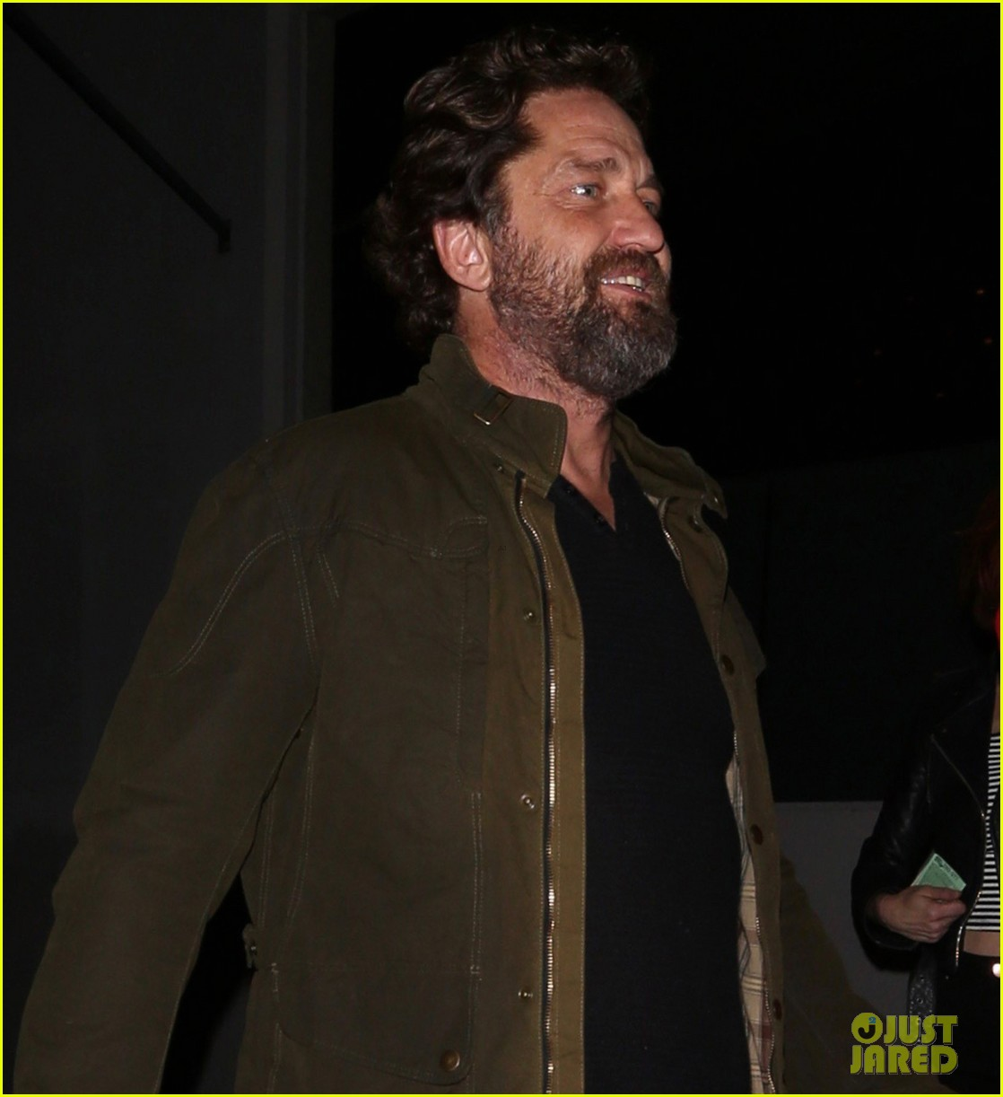 gerard butler morgan brown all smiles on date night 053880436