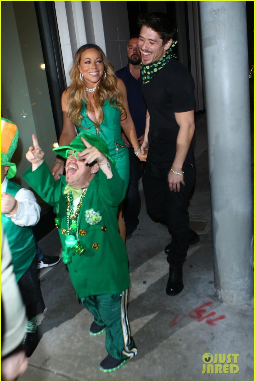 mariah carey has festive st patricks day with her boyfriend kids 023875769