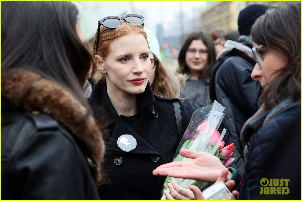 jessica chastain attends iwd march 013871706