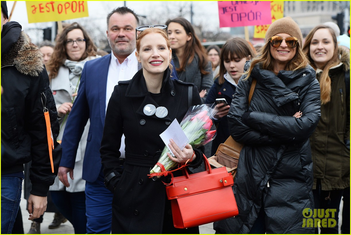 jessica chastain attends iwd march 043871709