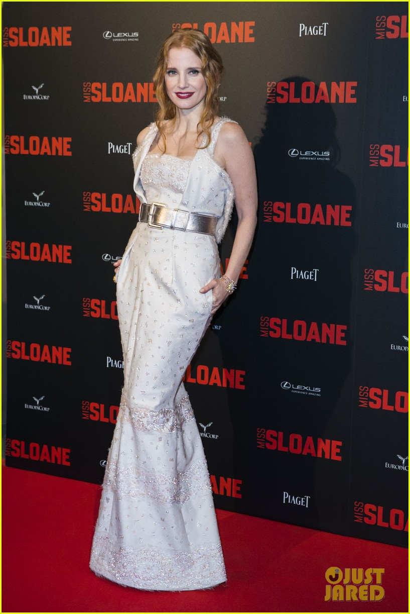 jessica chastain miss sloane premiere paris 013869266