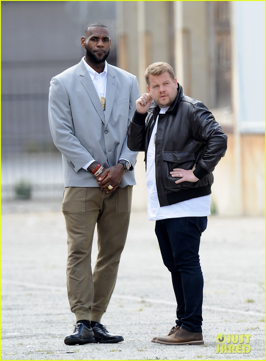 james corden dances with lebron james for fun new segment 063876640