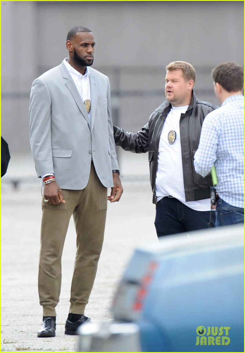 james corden dances with lebron james for fun new segment 233876657