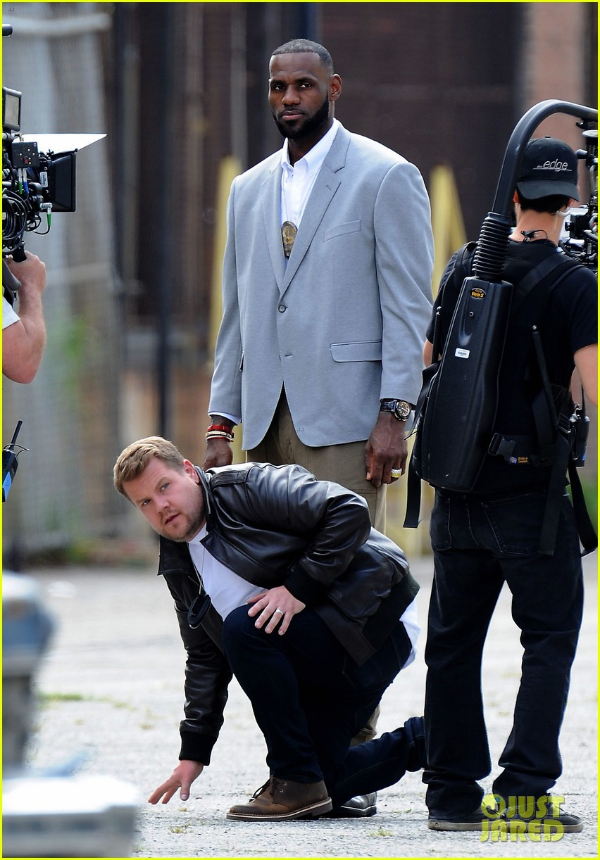 james corden dances with lebron james for fun new segment 353876669