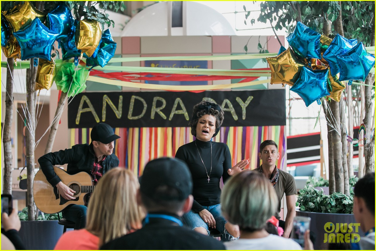 andra day covers what the world needs now is love for hyatt campaign 163876468