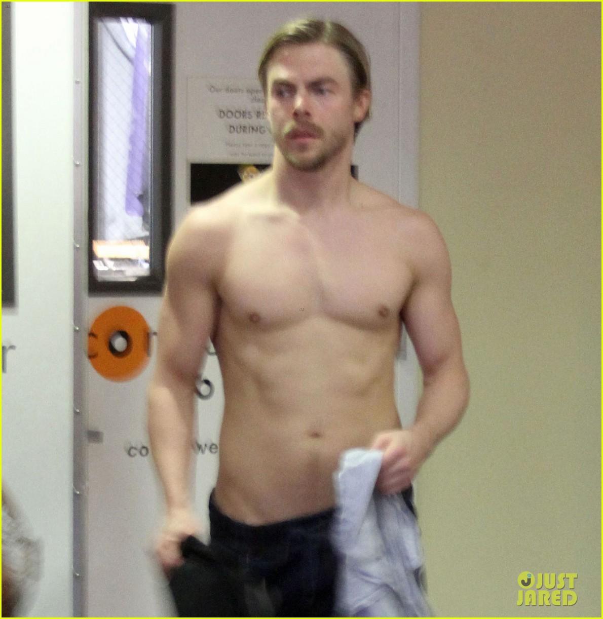 derek hough shirtless yoga julianne 043872963