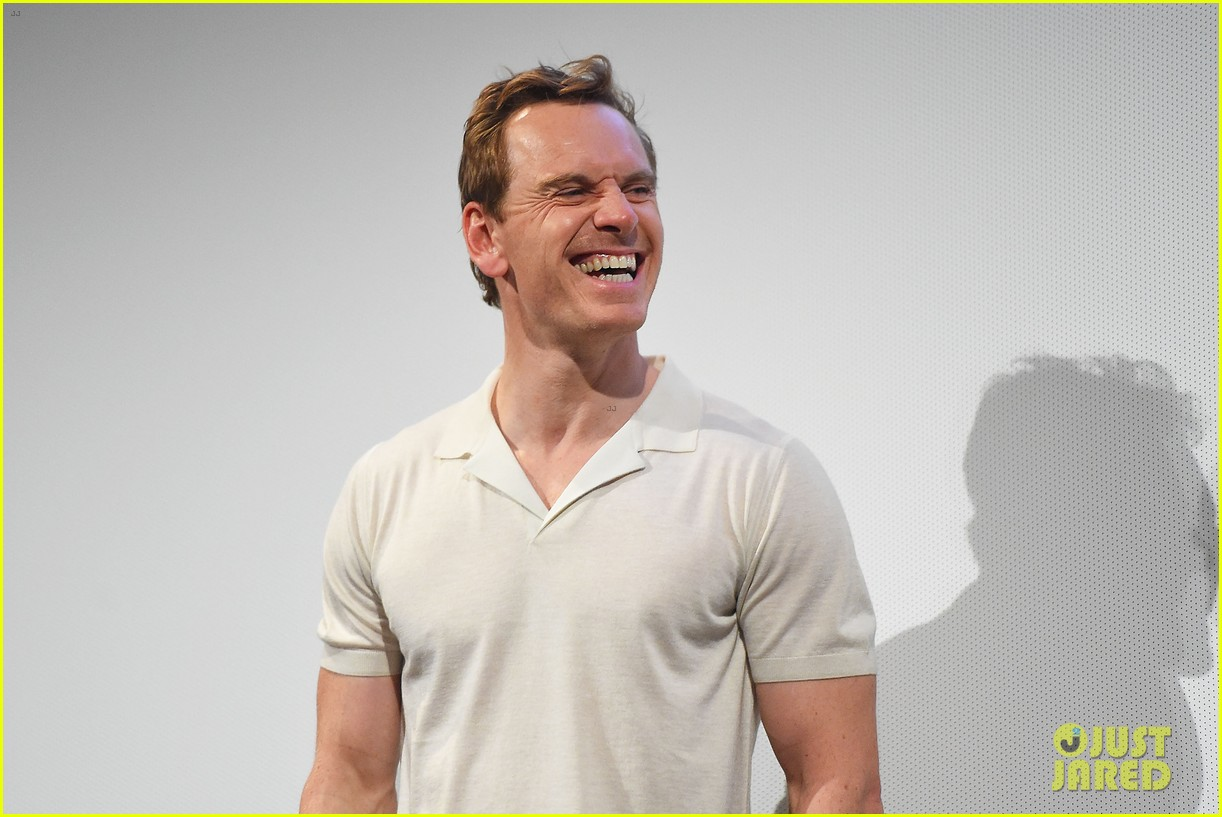 Michael Fassbender Blessed Us All By Wearing This Tight Shirt