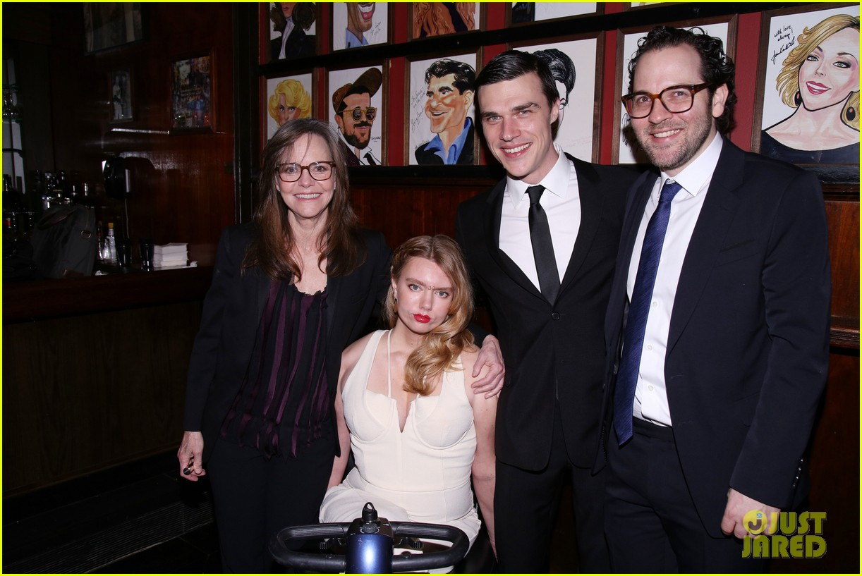 sally field celebrates opening night of the glass menagerie with finn wittrock 053872328