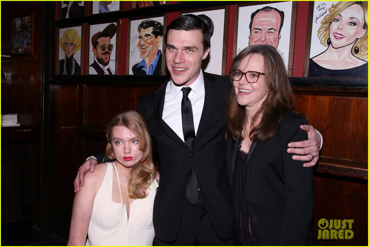 sally field celebrates opening night of the glass menagerie with finn wittrock 073872330