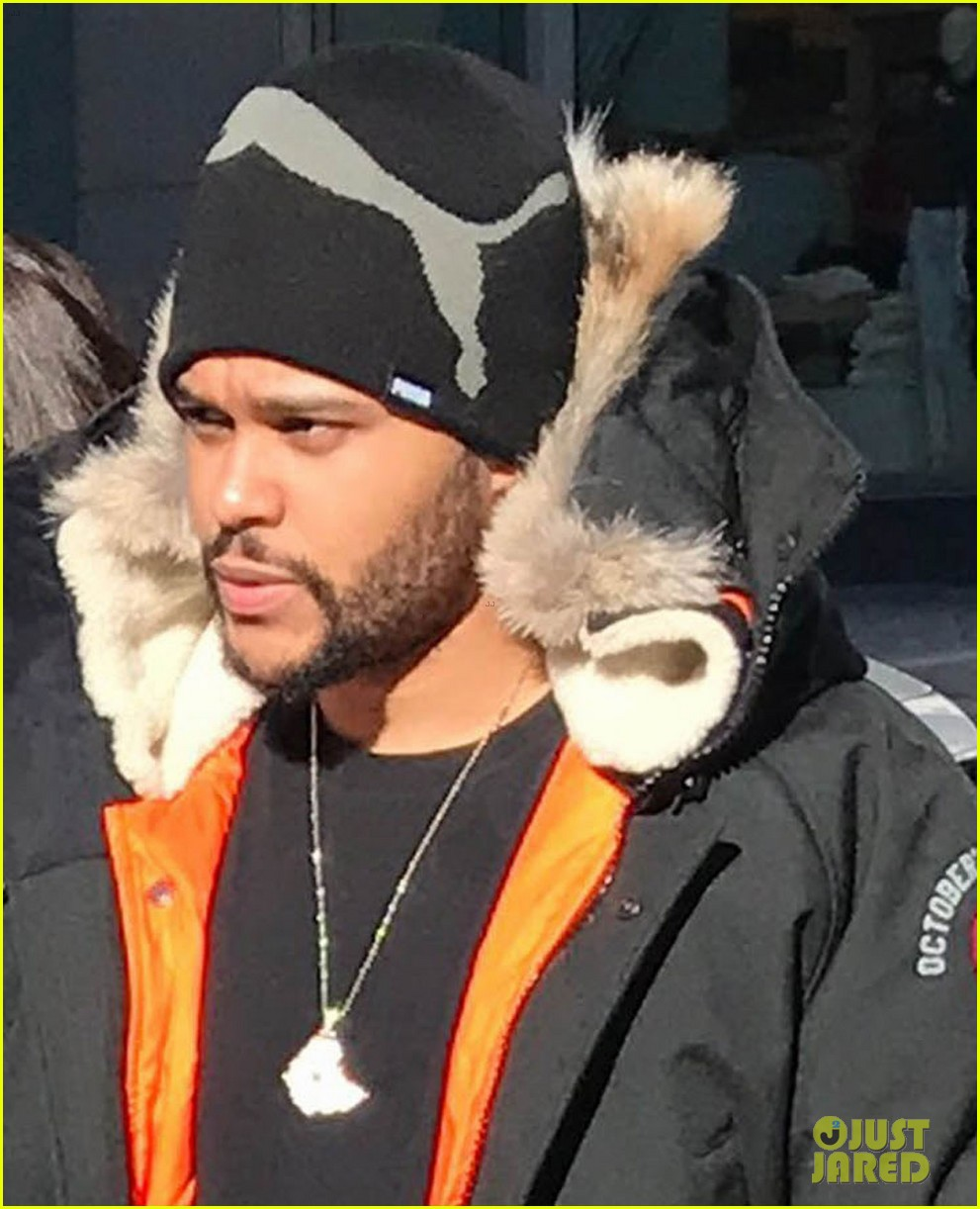 selena gomez the weeknd hold hands shopping toronto 013875362