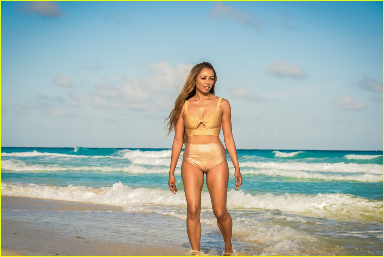 kat graham hits the beach ahead of vampire diaries finale 043872372