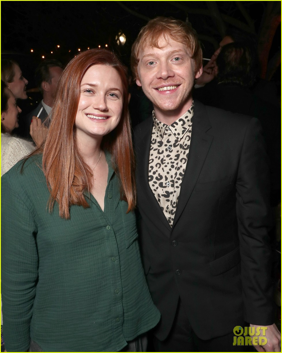 harry potter stars rupert grint bonnie wright reunite 033872383