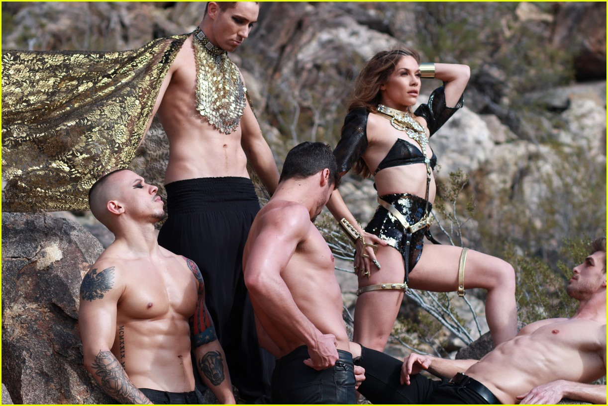 allison holker dances in bobby newberry met you in egypt video 053873965