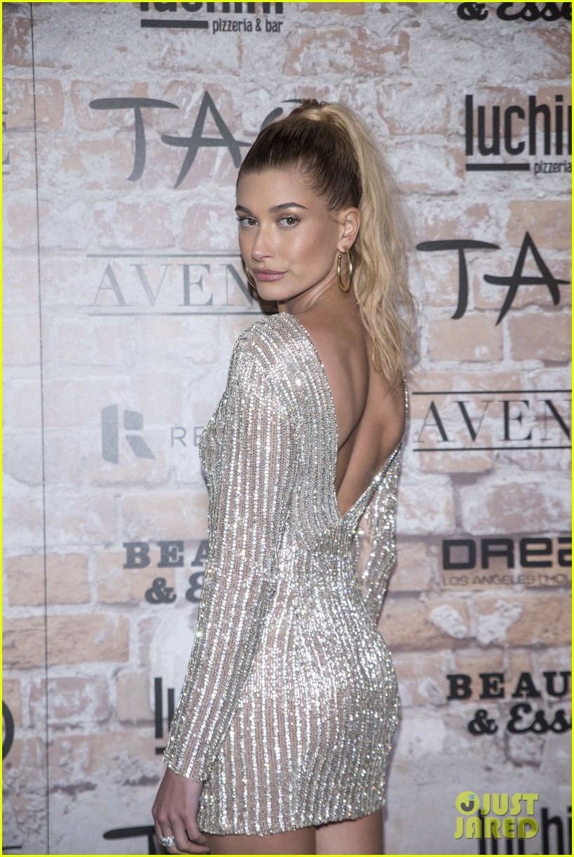katie holmes hailey baldwin lead celeb studded tao opening block party 013875293