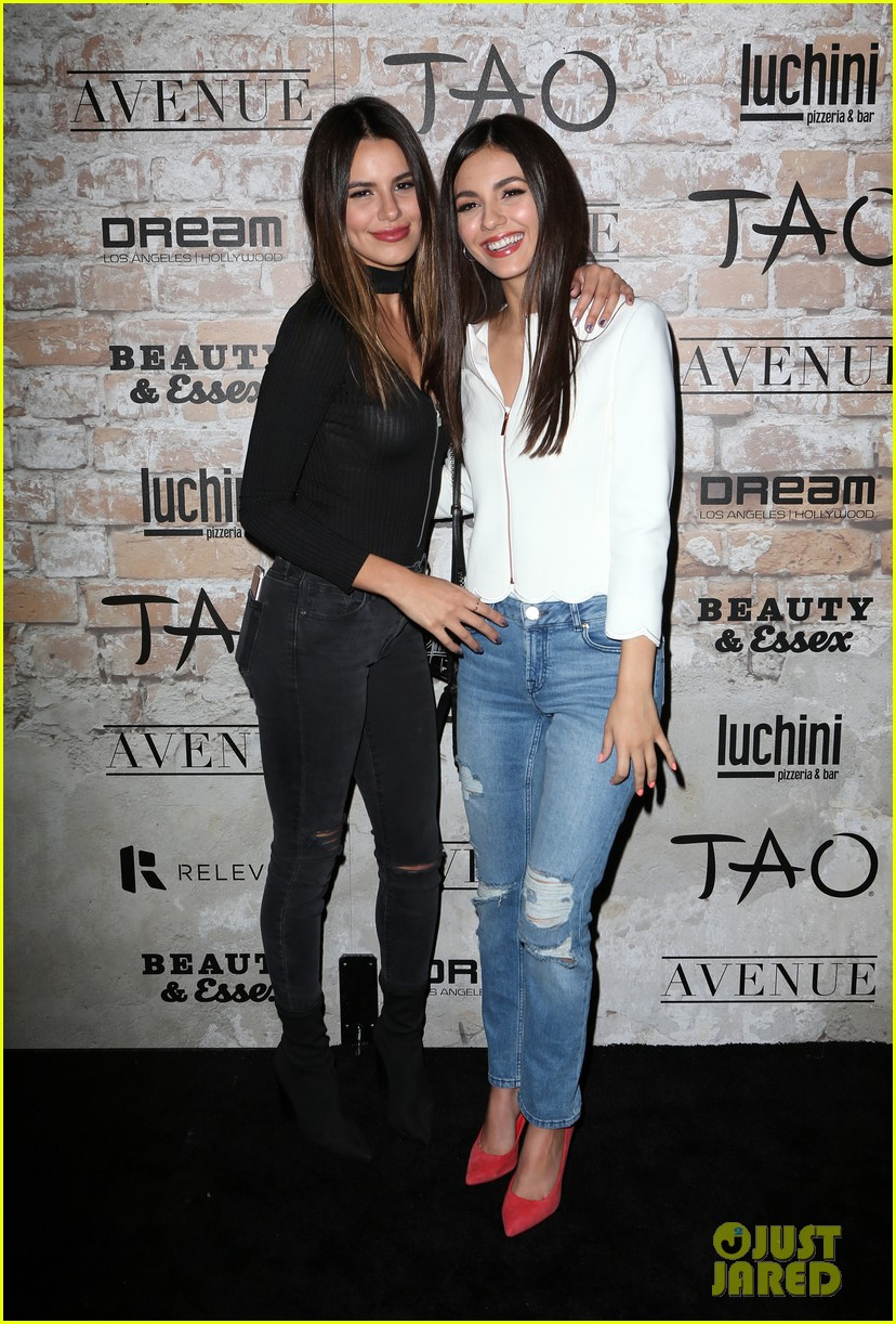 katie holmes hailey baldwin lead celeb studded tao opening block party 053875297