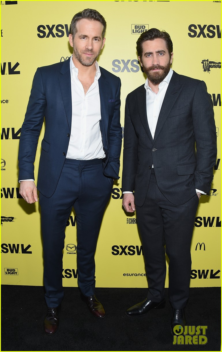 ryan jake suit up for life premiere at sxsw festival 013875853