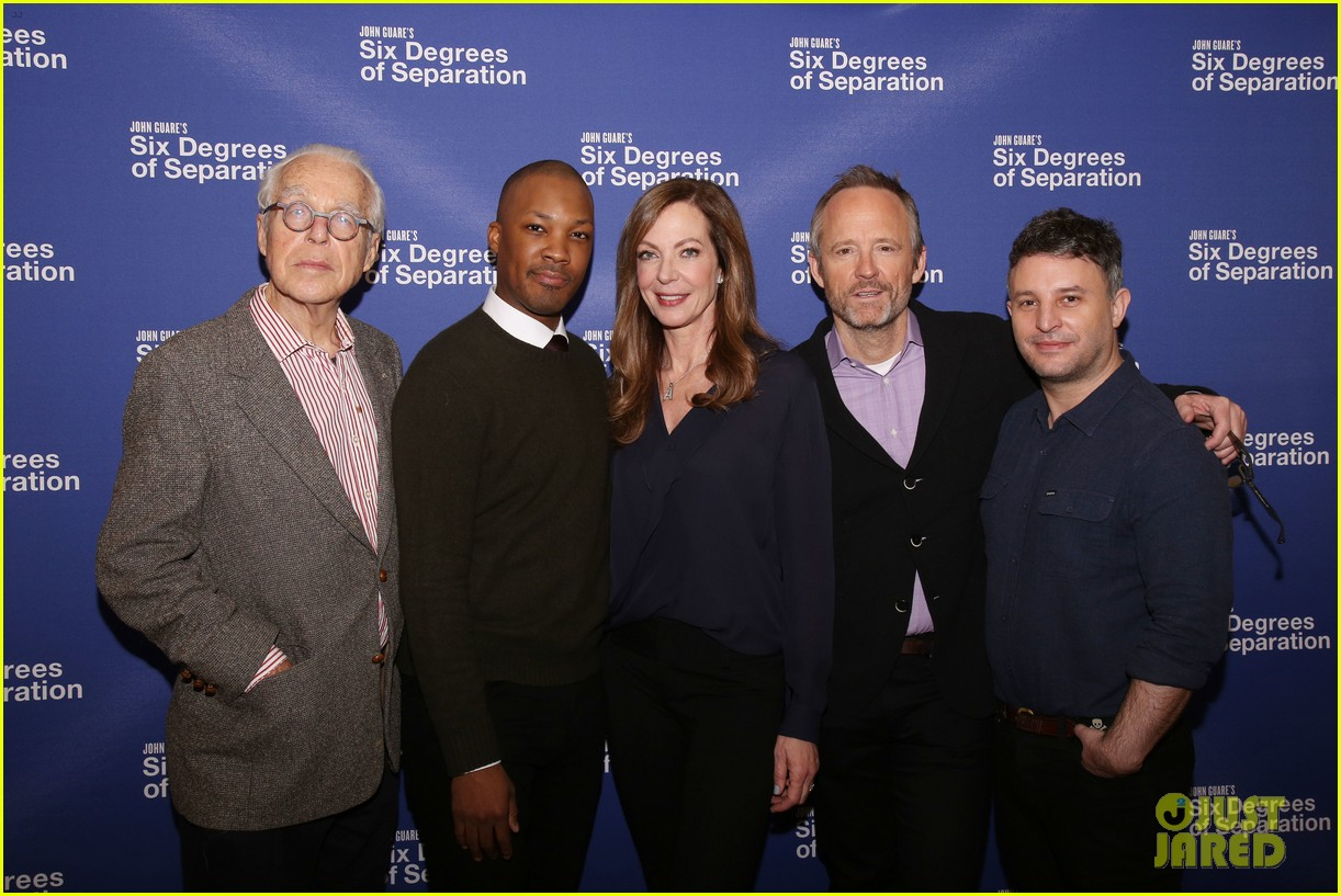 allison janney corey hawkins john benjamin hickey team up in six degrees of separation 043868606
