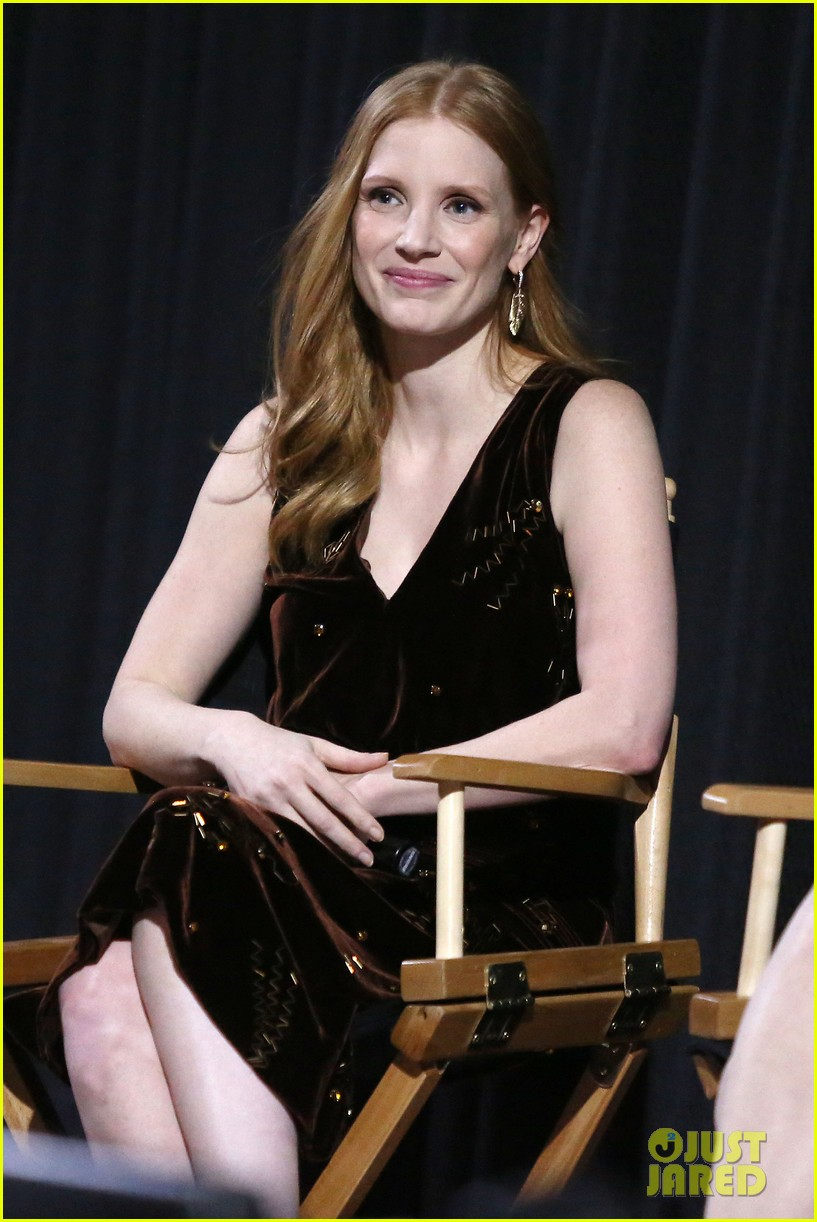 jessica chastain zookeepers wife screening nyc 023876211