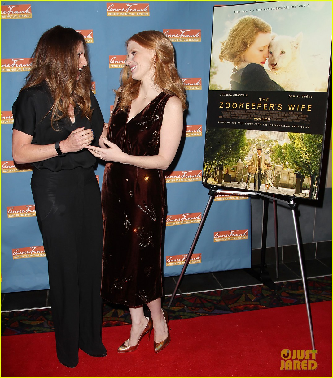 jessica chastain zookeepers wife screening nyc 113876220