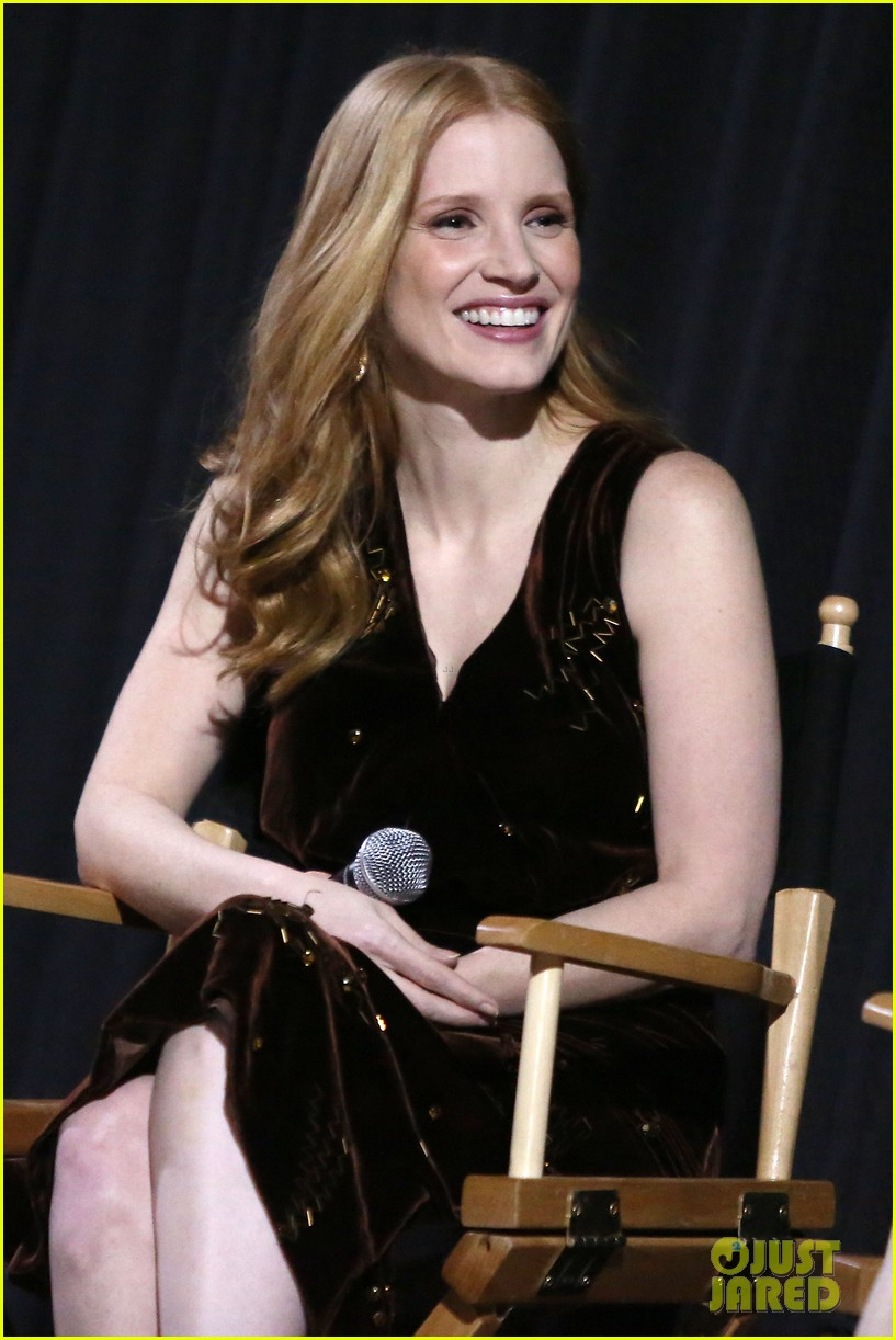 jessica chastain zookeepers wife screening nyc 223876231