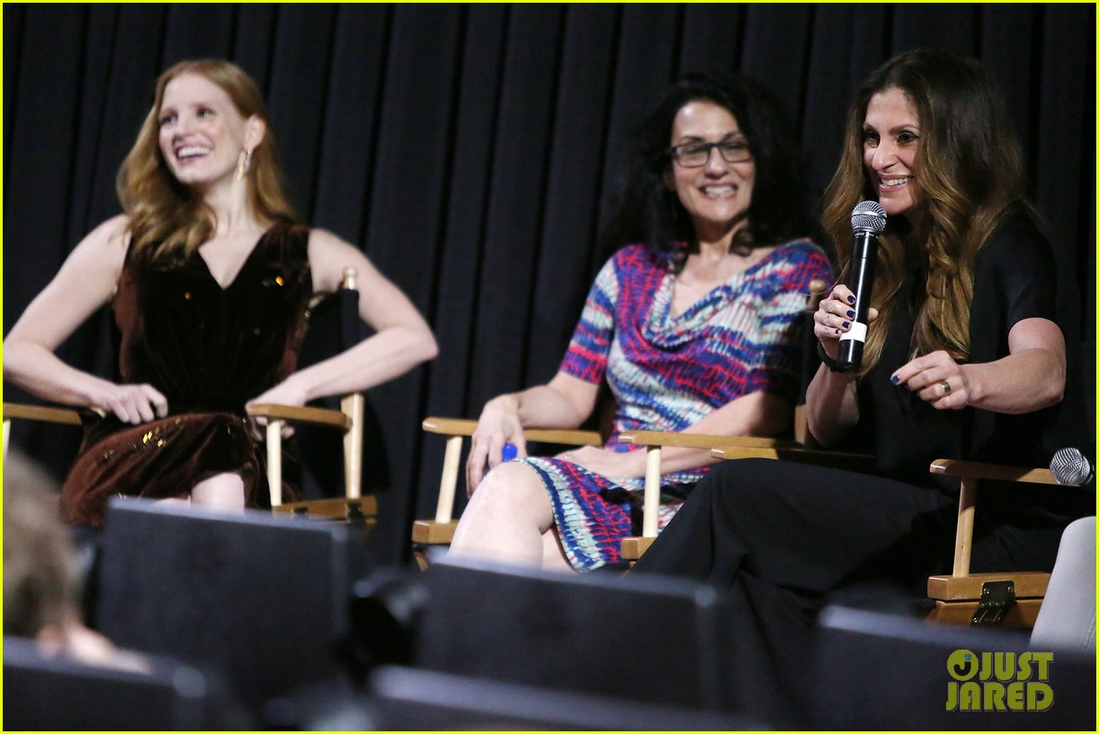 jessica chastain zookeepers wife screening nyc 253876234