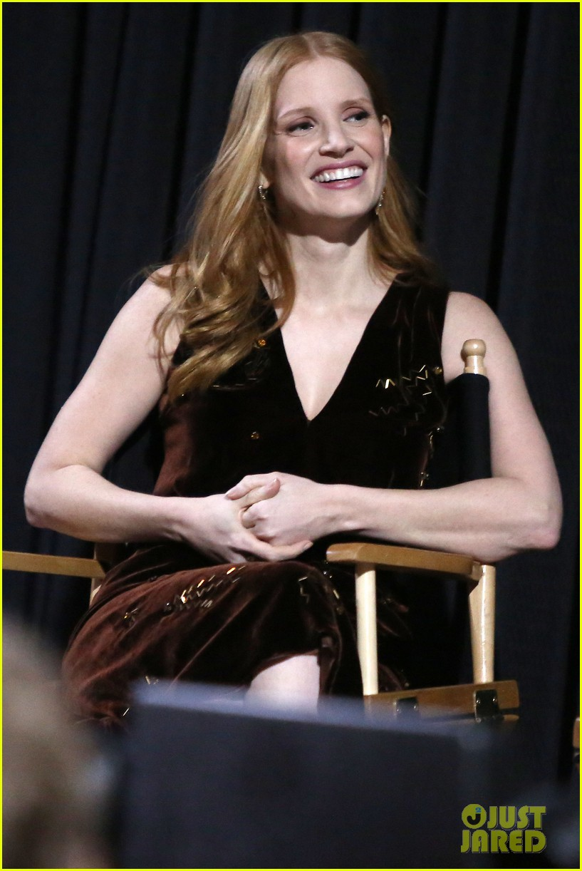 jessica chastain zookeepers wife screening nyc 263876235