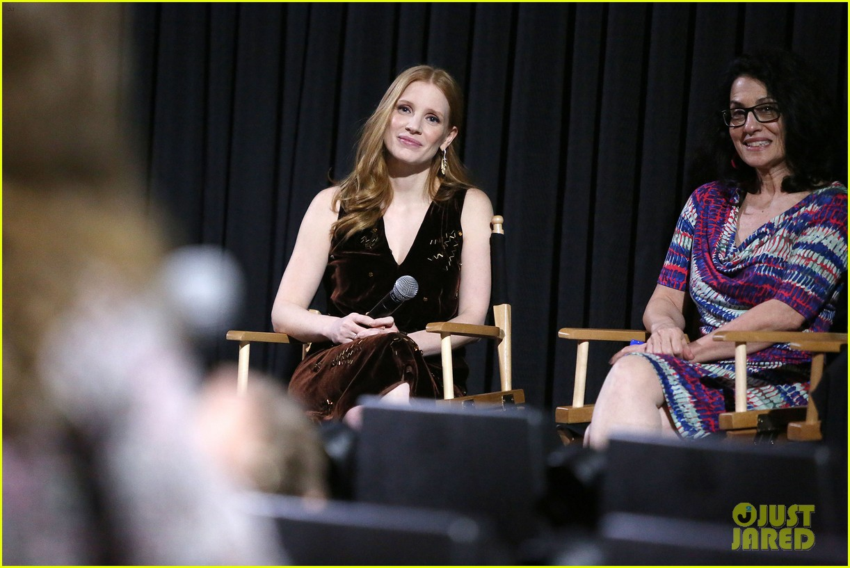 jessica chastain zookeepers wife screening nyc 283876237