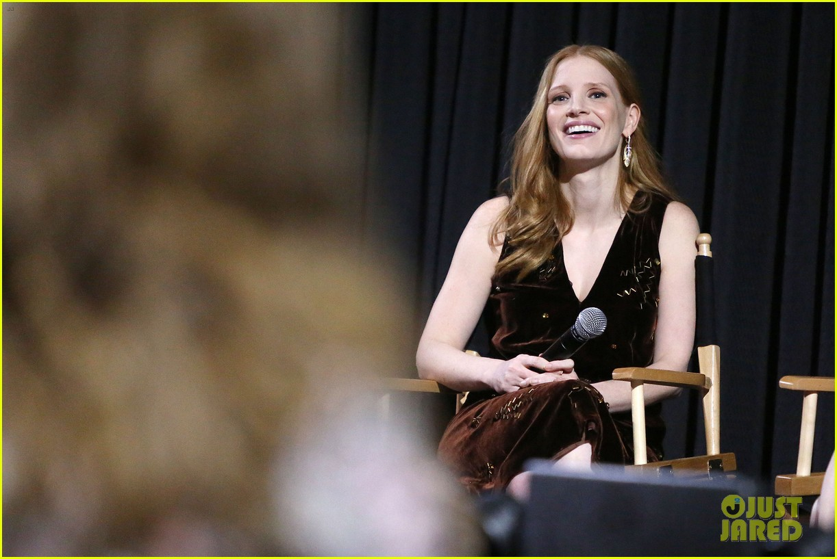 jessica chastain zookeepers wife screening nyc 293876238