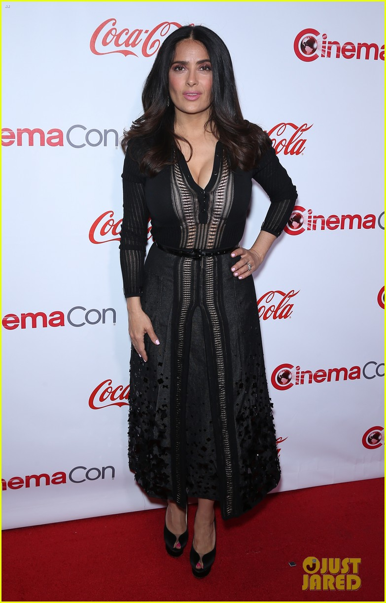 jessica naomi salma attend the cinemacon awards 033880334