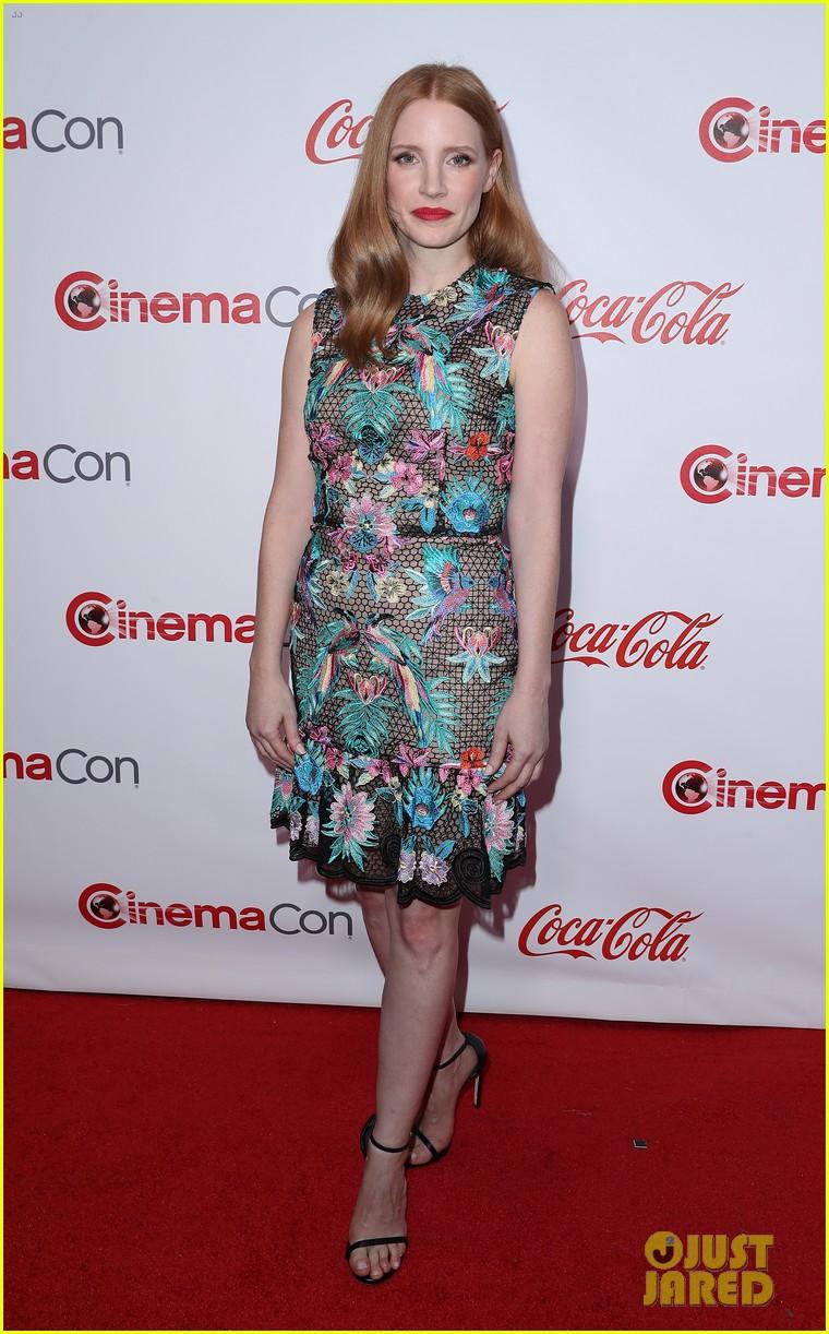 jessica naomi salma attend the cinemacon awards 053880336