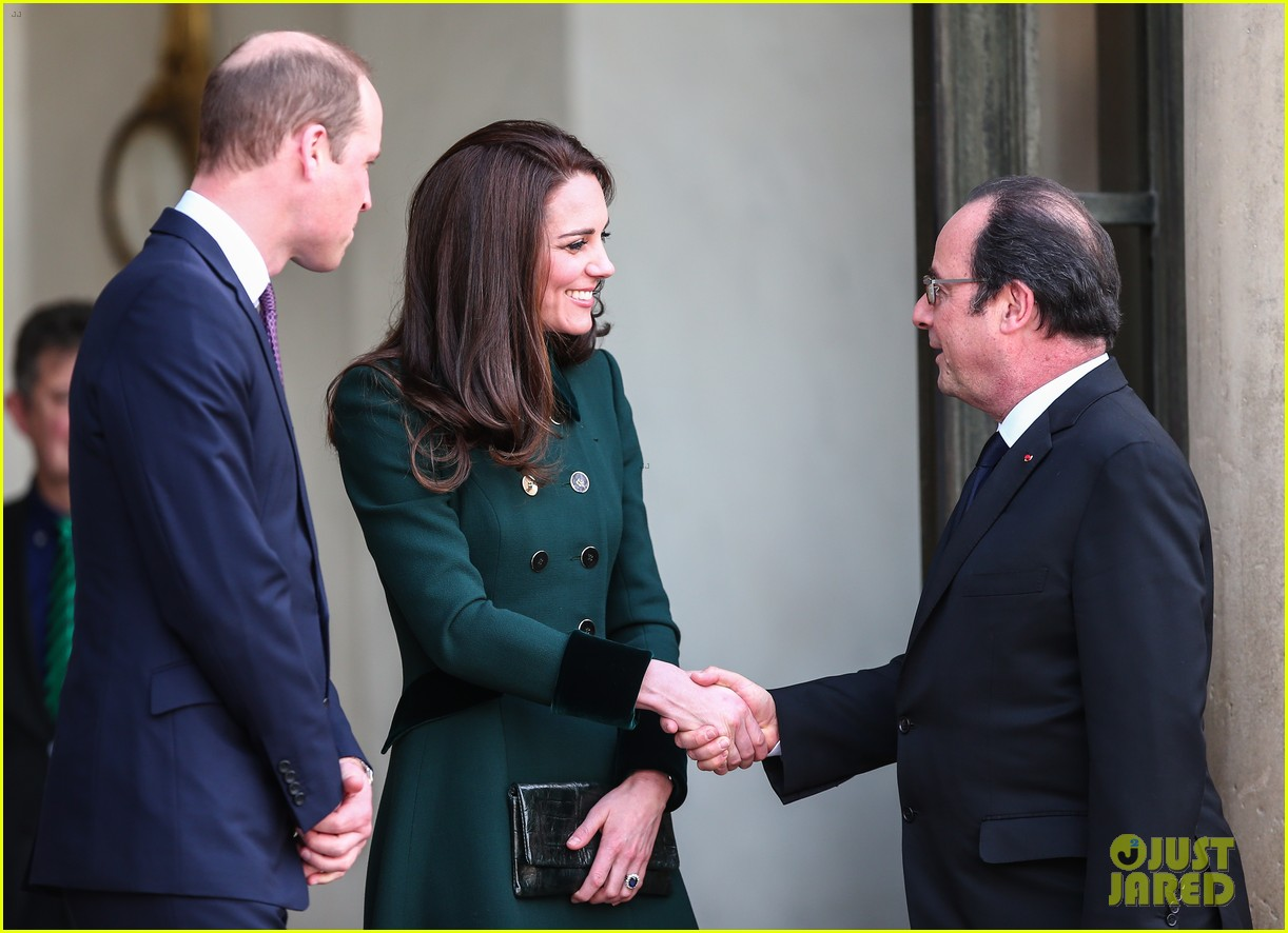 Kate Middleton Gets Glam With Prince William in Paris! : Photo ...