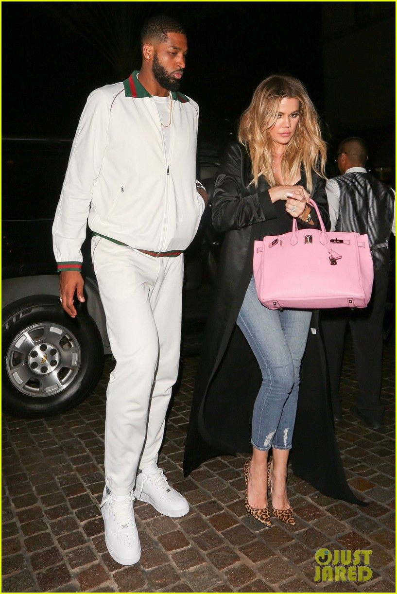 khloe kardashian tristan thompson date night 043875750